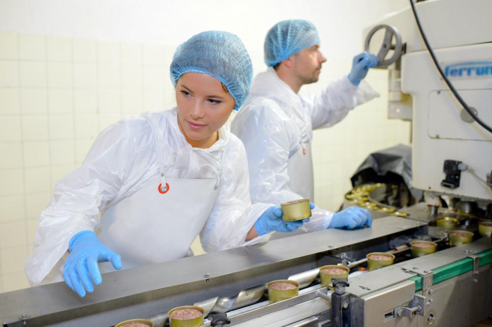 Blue Food PPE