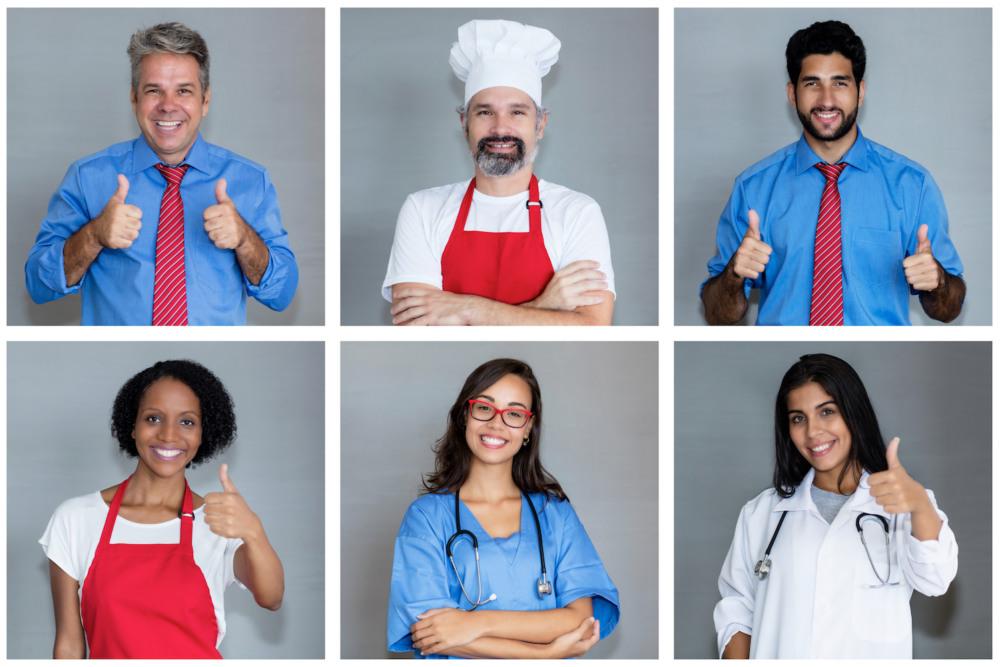 Engaged employees uniform