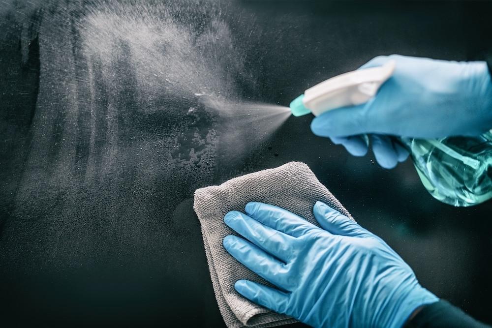 Sanitising spray